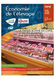 Dernières parutions dans Economie de l'élevage, La filière Viande bovine en Chine