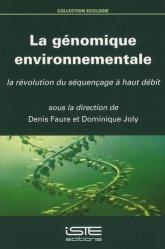 Dernières parutions sur Génétique, La génomique environnementale