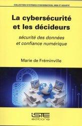 Dernières parutions sur Bases de données, La cybersécurité et les décideurs