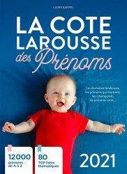 Dernières parutions sur Prénoms - Albums de bébé, La cote Larousse des prénoms