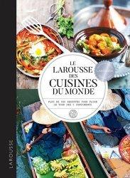 Dernières parutions sur Cuisine et vins, Larousse des cuisines du monde