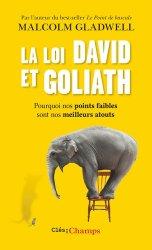 Dernières parutions dans Clés des champs, La loi David et Goliath