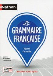 Dernières parutions dans Repères pratiques, La grammaire francaise