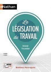 Dernières parutions sur Droit du travail et de l'emploi, La législation du travail - Repères pratiques numéro 6 - 2020