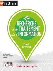 Dernières parutions dans Repères Pratiques, La recherche et le traitement de l'information - Repères pratiques numéro 25 - 2021