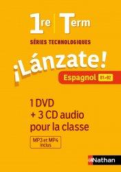 Dernières parutions sur Méthodes de langue (scolaire), Lánzate! 1re/Term Séries technologiques