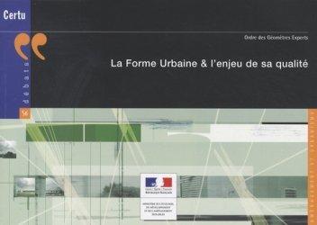 Dernières parutions dans Débats, La forme urbaine et l'enjeu de sa qualité