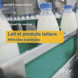 Dernières parutions sur Recueils de normes en agroalimentaire, Lait et produits laitiers