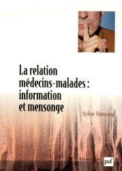 Dernières parutions sur Relation médecin / patient, La relation médecins-malades : information et mensonge