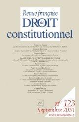 Dernières parutions sur Revues de droit et justice, La culture constitutionnelle du peuple