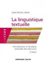Dernières parutions sur Linguistique, La linguistique textuelle