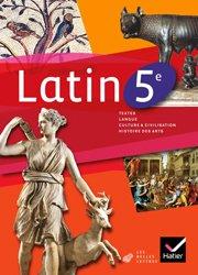 Dernières parutions sur Méthodes de langue (Scolaire), Latin 5e : Manuel de l'Élève