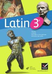 Dernières parutions sur Méthodes de langue (Scolaire), Latin 3e : Manuel de l'élève