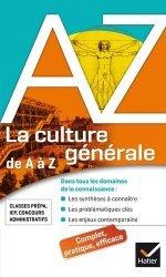 Dernières parutions dans de a à z, La culture générale de A à Z