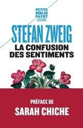 Dernières parutions dans Petite Bibliothèque Payot, La Confusion des sentiments