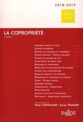 Dernières parutions dans Dalloz Action, La copropriété 2018-2019. 9e édition