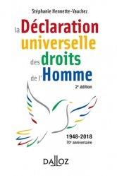 Dernières parutions dans A Savoir, La Déclaration universelle des droits de l'Homme. 2e édition