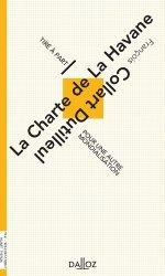 Dernières parutions dans Tiré à part, La Charte de la Havane