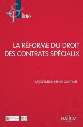 Dernières parutions dans Thèmes et commentaires, La réforme du droit des contrats spéciaux