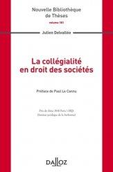 Dernières parutions dans Nouvelle Bibliothèque Thèses, La collégialité en droit des sociétés