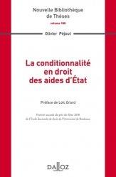 Dernières parutions dans Nouvelle Bibliothèque Thèses, La conditionnnalité en droit des aides d'état