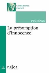 Dernières parutions dans Connaissance du droit, La présomption d'innocence