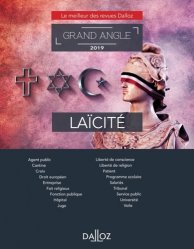 Dernières parutions dans Dalloz Grand angle, Laïcité. Edition 2019