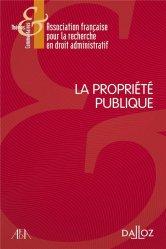 Dernières parutions sur Autres ouvrages de droit public, La propriété publique