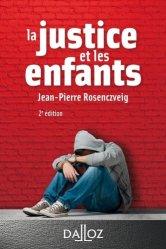 Dernières parutions dans A Savoir, La justice et les enfants. 2e édition