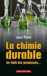 Dernières parutions sur Toxicologie, La chimie durable