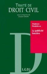 Dernières parutions dans Traité de droit civil, La publicité foncière