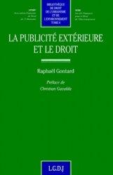 Dernières parutions dans Bibliothèque de droit de l'urbanisme et de l'environnement, La publicité extérieure et le droit