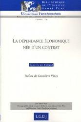Dernières parutions dans Bibliothèque Institut Tunc, La dépendance économique née d'un contrat