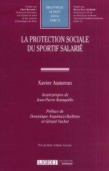 Dernières parutions sur Droit du sport, La protection sociale du sportif salarié