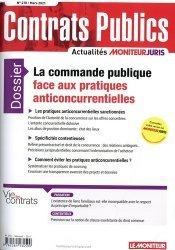 Dernières parutions sur Marchés publics, La commande publique face aux pratiques anticoncurrentielles
