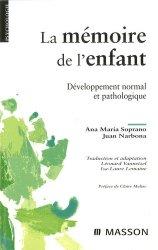 Dernières parutions dans Psychologie, La mémoire de l'enfant
