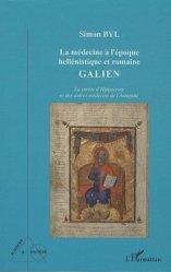Dernières parutions dans Sciences et Société, La médecine à l'époque hellénistique et romaine