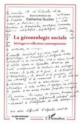 Dernières parutions dans La gérontologie en actes, La gérontologie sociale