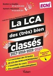 Dernières parutions sur ECN iECN DFASM DCEM, La LCA des (très) bien classés