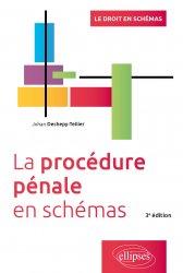 Dernières parutions sur Procédure pénale, La procédure pénale en schémas, 3e édition