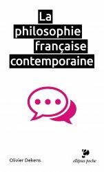 Dernières parutions dans Ellipses poche, La philosophie française contemporaine
