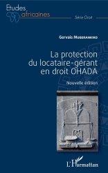 Dernières parutions dans Etudes africaines. Droit, La protection du locataire-gérant en droit OHADA