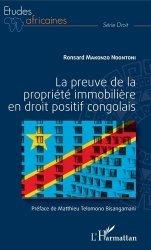 Dernières parutions sur Droit international privé, La preuve de la propriété immobilière en droit positif congolais