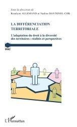 Dernières parutions sur Décentralisation et collectivités territoriales, La différenciation territoriale