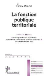 Dernières parutions sur Fonction publique, La fonction publique territoriale