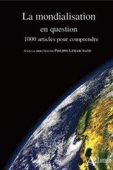 Dernières parutions sur Géopolitique, La mondialisation en question
