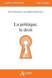 Dernières parutions sur Sciences politiques, La politique, le droit