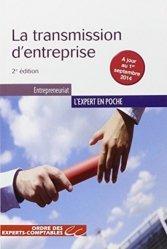 Dernières parutions sur Transmission et reprise d'entreprise, La transmission d'entreprise. 2e édition