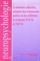 Dernières parutions sur Evaluations, La mémoire collective, mémoire des événements publics et des célébrités : les batteries EVE 30 etTOP 30