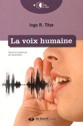 Dernières parutions sur Troubles physiques ORL, La voix humaine majbook ème édition, majbook 1ère édition, livre ecn major, livre ecn, fiche ecn